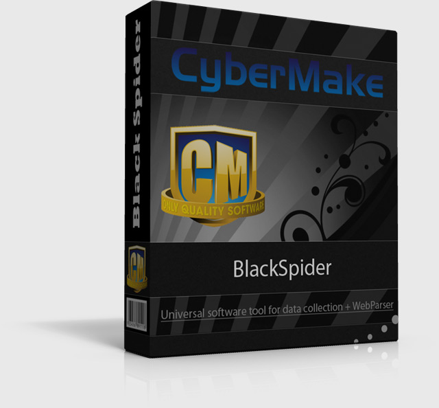 BlackSpider - Powerful Scrape software and Crawler Tools for